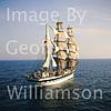 "Tall Ship ""Simon Bolivar"" South of Palma de Mallorca."